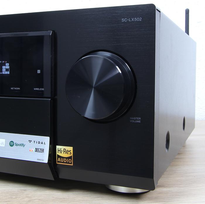 Pioneer-SC-LX502-Bedienelemente-Front1