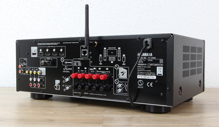 Yamaha-RX-V483-Rueckseite-Seitlich