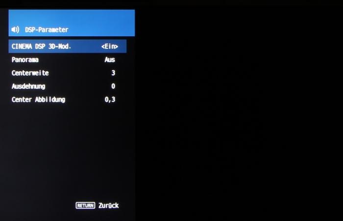 Yamaha RX-V483 Screenshot 8