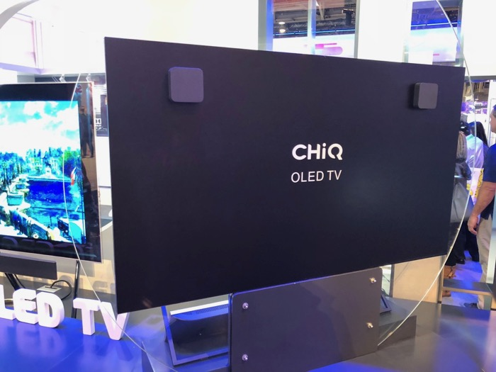 Changhong OLED Backside