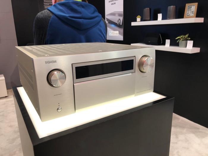 Denon AVR-X8500 premiumsilber