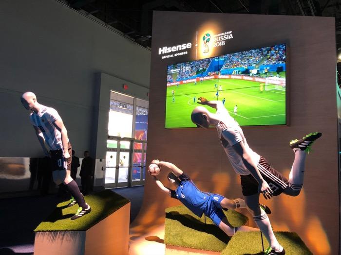 Hisense Sponsor Fussball WM 2018