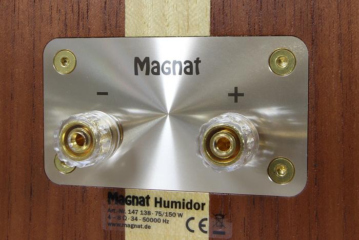 Magnat-Humidor-Anschluesse