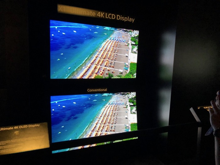 Sony Ultimate 4K LCD Display