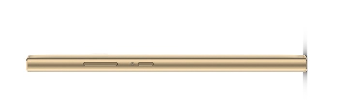 Sony Xperia L2 Gold side