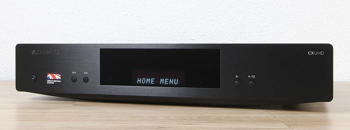 Cambridge Audio CX UHD Front Seitlich1