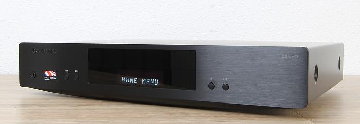 Cambridge Audio CX UHD Front Seitlich2