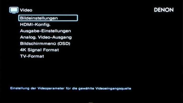 Denon AVC-X8500H Screenshot 21