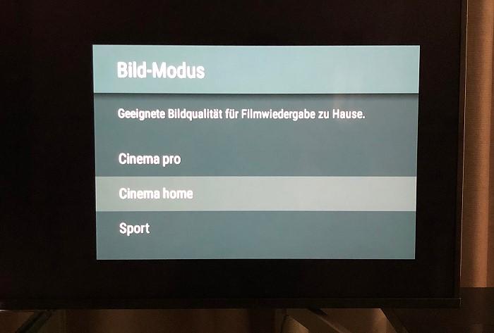 Sony_KD55X8505_menue_bildmodus