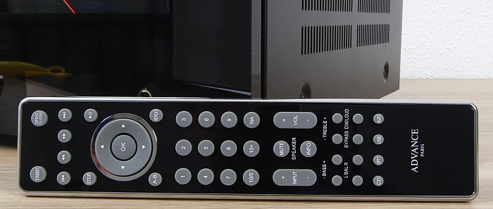 Advance Acoustic X-i125 Fernbedienung