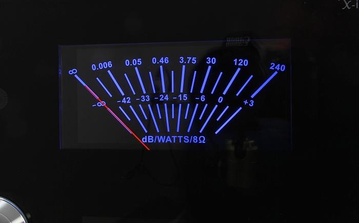Advance Acoustic X-i125 VU Meter