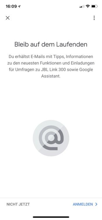 JBL Link 300 App15