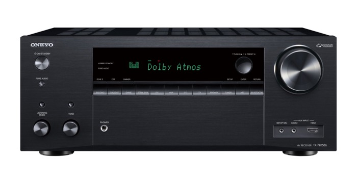 Onkyo TX-NR686 back front