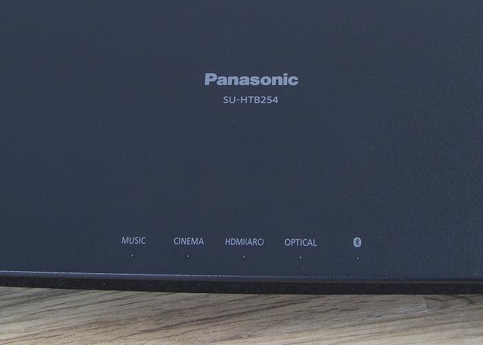 Panasonic SC-HTB254 Soundbar Detail Oberseite