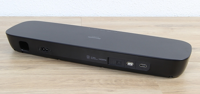 Panasonic SC-HTB254 Soundbar Rueckseite Seitlich1
