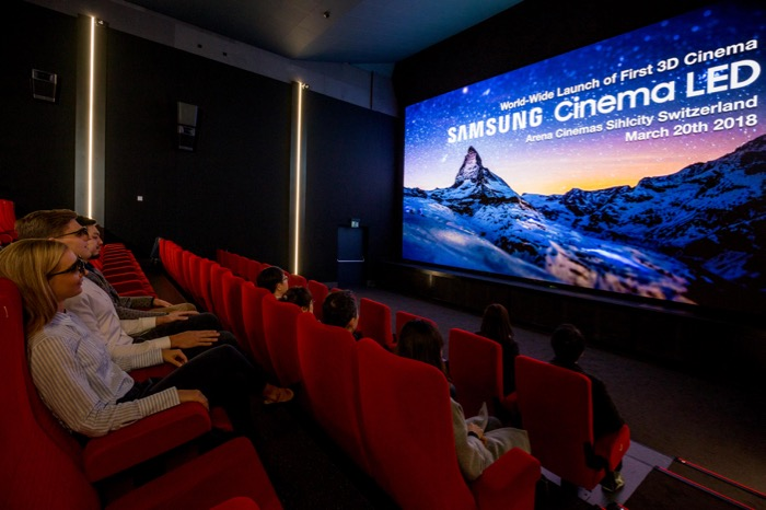 Samsung 3D Cinema LED1