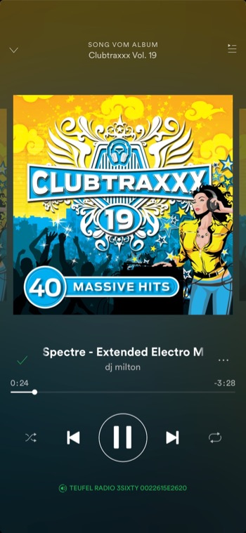 Teufel Radio 360 Spotify2