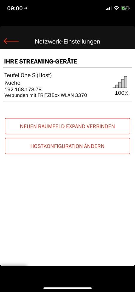 Teufel Raumfeld App 20