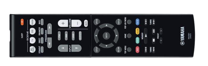 Yamaha RX-V385 remote
