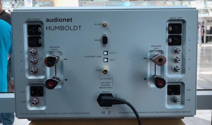 Audionet Humboldt back