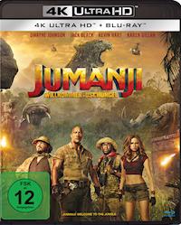 Jumanji Willkommen im Dschungel Ultra HD Blu-ray