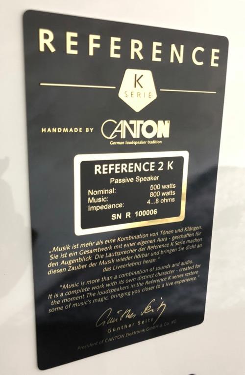 Mai HE Canton Ref2 Plakette
