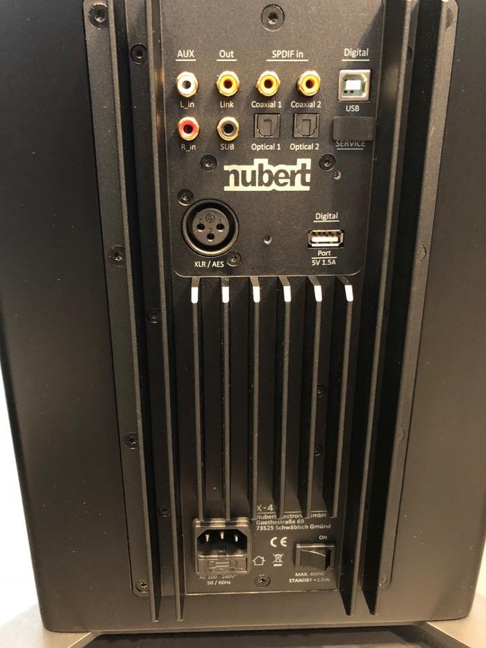 Mai HE Nubert nuPro X-8000 Terminal komplett