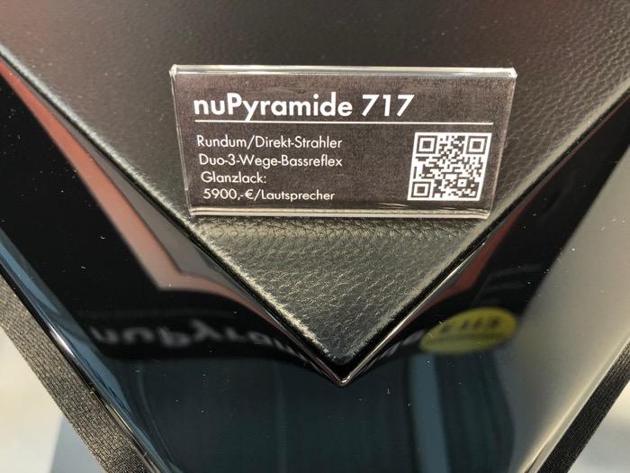 Mai HE Nubert nuPyramide black Detail