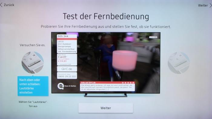Samsung Q9FN Menue 8