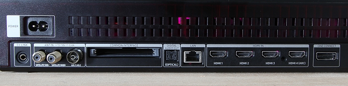 Samsung Q9FN One Connect Box 3