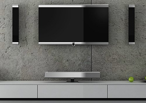 loewe neue individual compose lcd tvs mit hdtv tuner und recorder. Black Bedroom Furniture Sets. Home Design Ideas