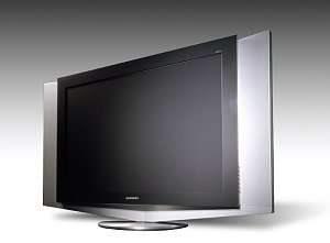 samsung 70 zoll plasmaschirm und 54 zoll lcd tv. Black Bedroom Furniture Sets. Home Design Ideas
