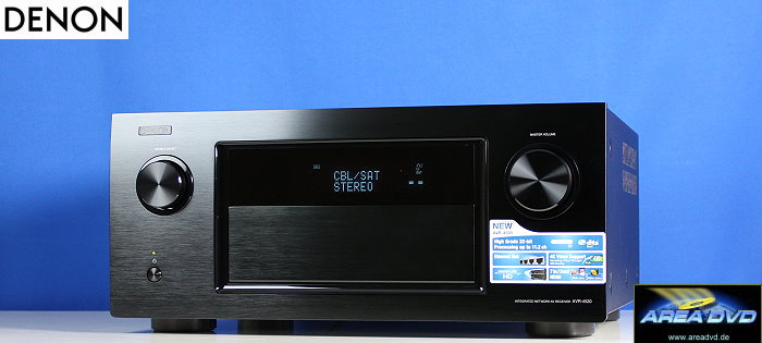 Denon AVR-4520 in the Test