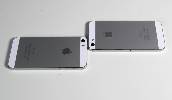 Apple iPhone5S Vergleich 5 5S 2