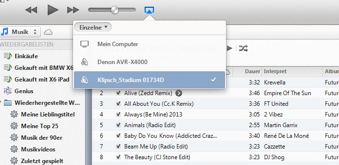 Klipsch Stadium AirPlay