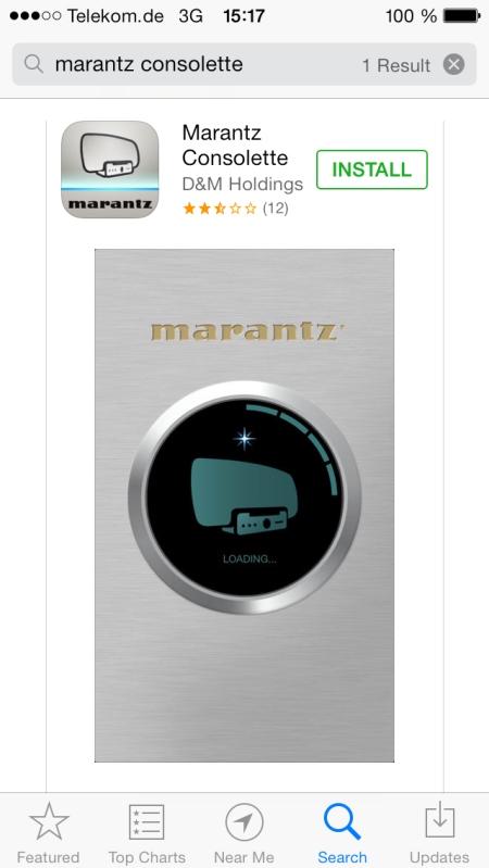 Marantz Consolette MS7000 App1