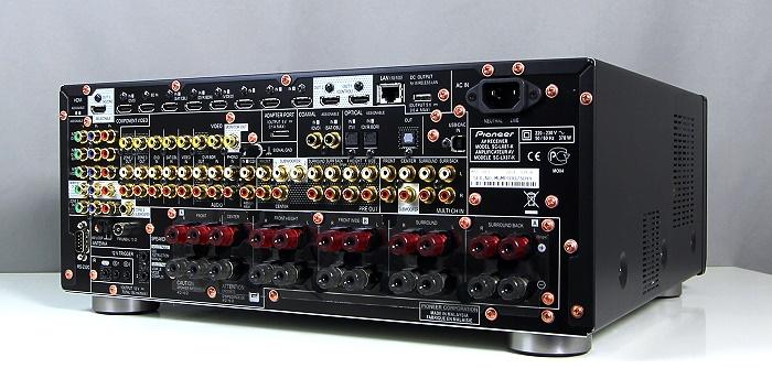 Pioneer SC-LX87 Rueckseite Seitlich2