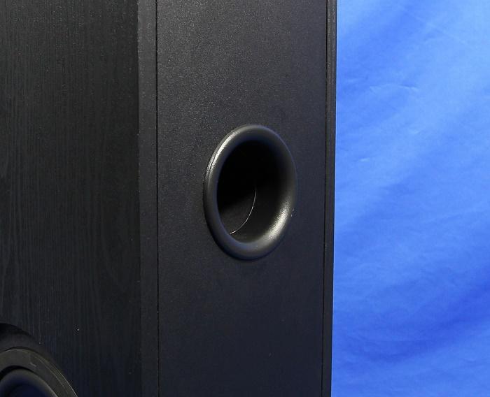 Quadral Ferrum 7000 Set Front Bassreflexrohr