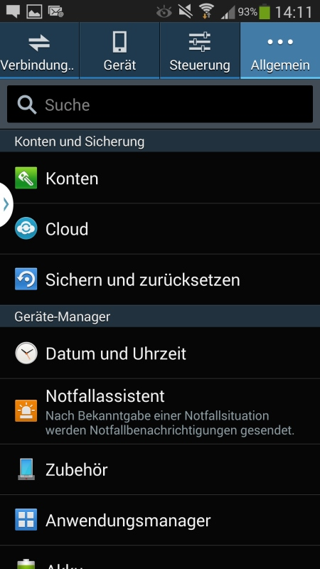 Samsung Galaxy Note 3 Screenshot 25