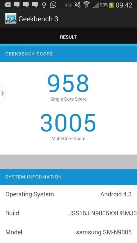Samsung Galaxy Note 3 Screenshot 3