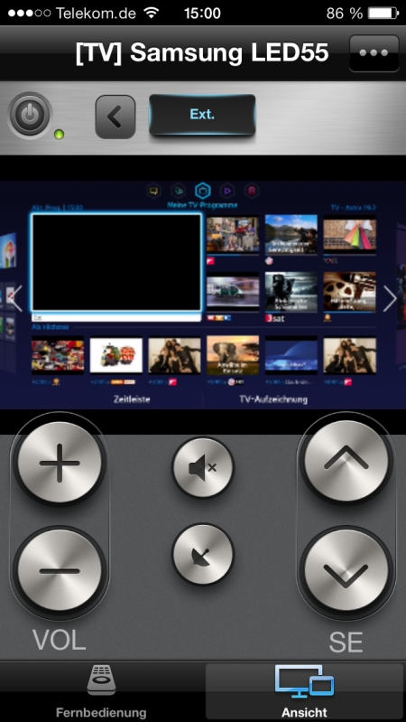 Samsung UE55F8590 App 6