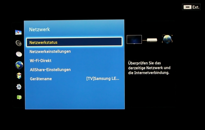 Samsung UE55F8590 Menuebild 40