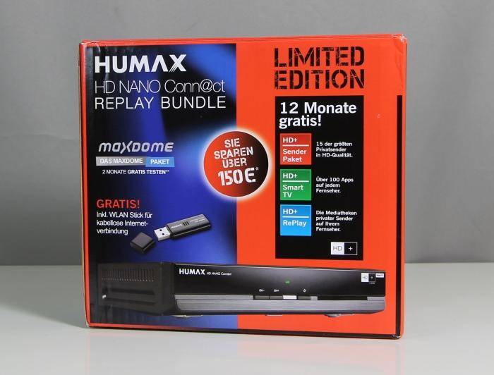Humax HD Nano Connect Replay Bundle Verpackung2
