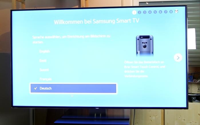 Samsung UE65F9090 Front Seitlich1