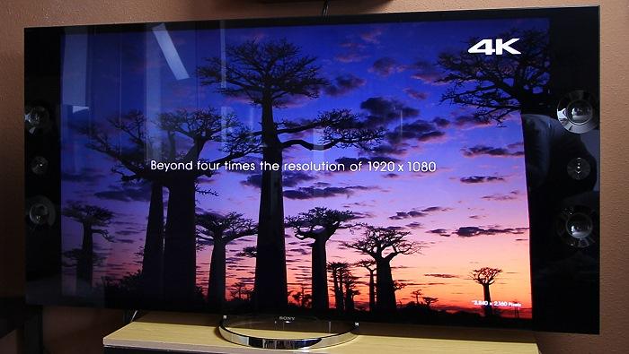 Sony KD65X9005 Front Seitlich3