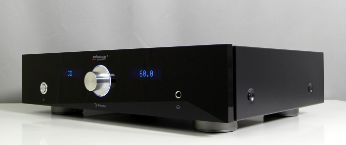 Advance Acoustic X-Preamp Front Seitlich2