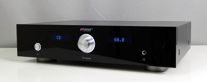 Advance Acoustic X-Preamp Front Seitlich3