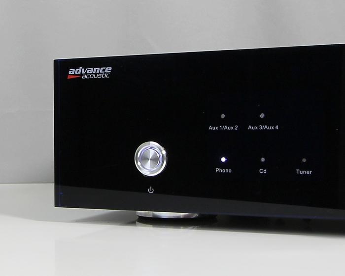 Advance Acoustic X-i60 Bedienelement Front1
