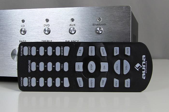 Auna AVR-CD508-BT Fernbedienung2