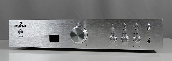 Auna AVR-CD508-BT Front Seitlich3